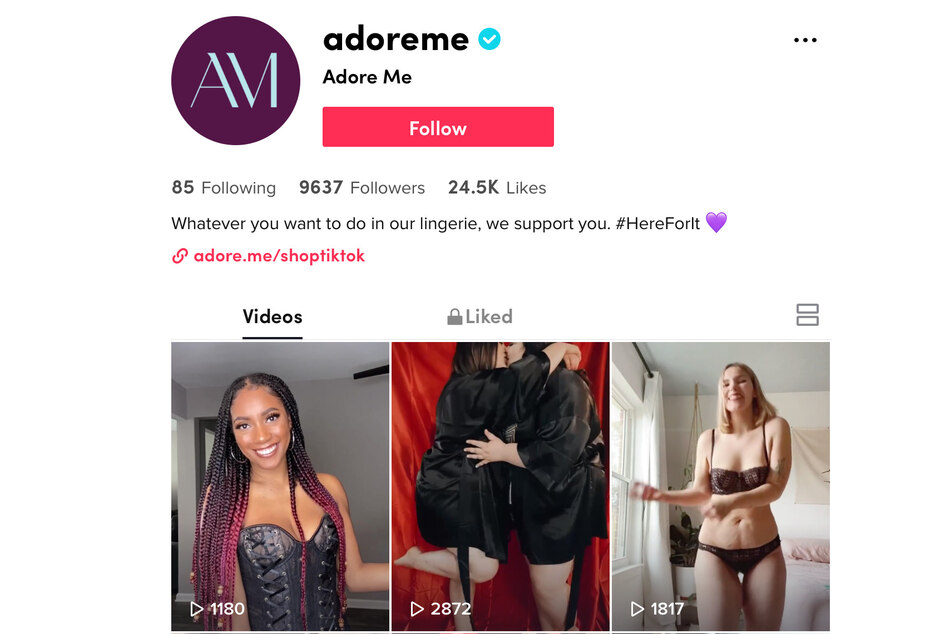 Lingerie brand says TikTok has been removing its videos of Black and plus-size models