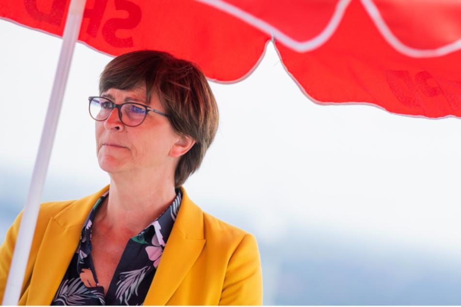 SPD-Parteivorsitzende Saskia Esken (59).