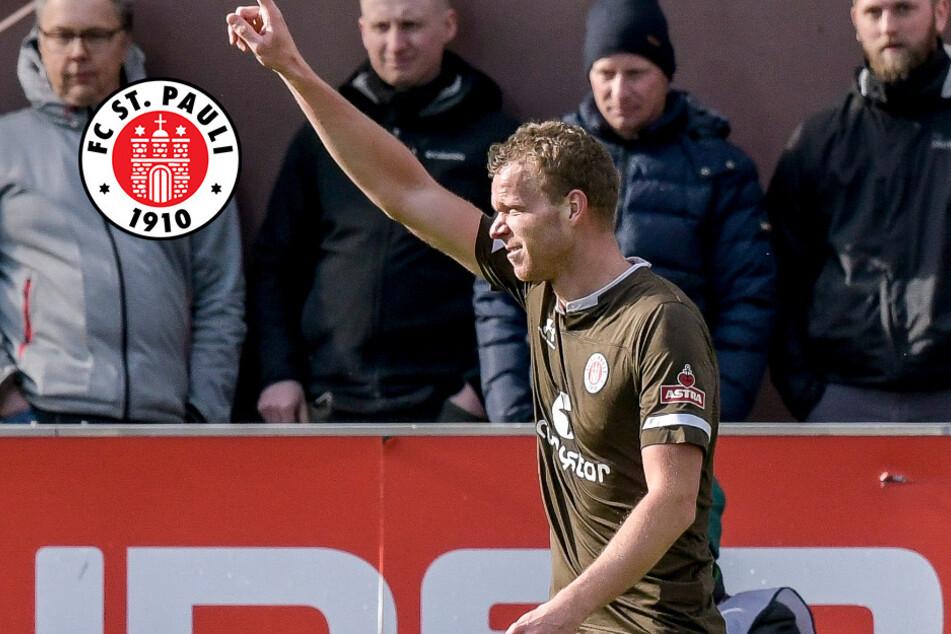 FC St. Pauli: Torjäger HenkVeerman im Reha-Training