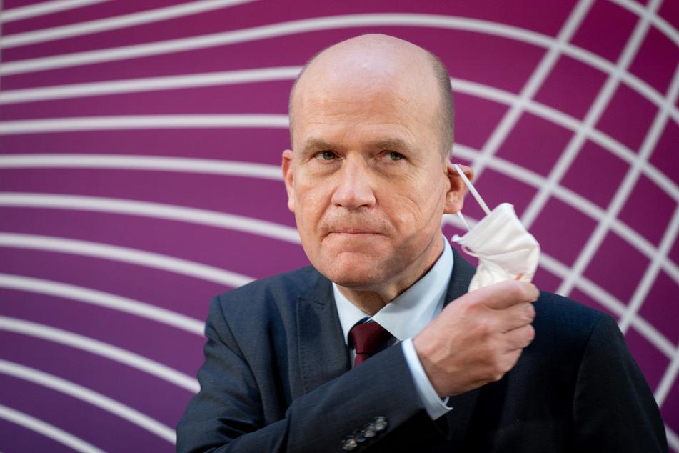 Ralph Brinkhaus (52, CDU) ist der Vorsitzende der CDU/CSU-Bundestagsfraktion.