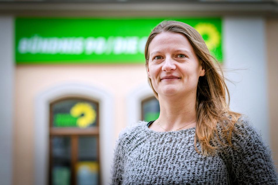 Christin Furtenbacher (37, Grüne) fordert ein Unterstützungsangebot, um mehr Menschen für die Kommunalpolitik zu begeistern.