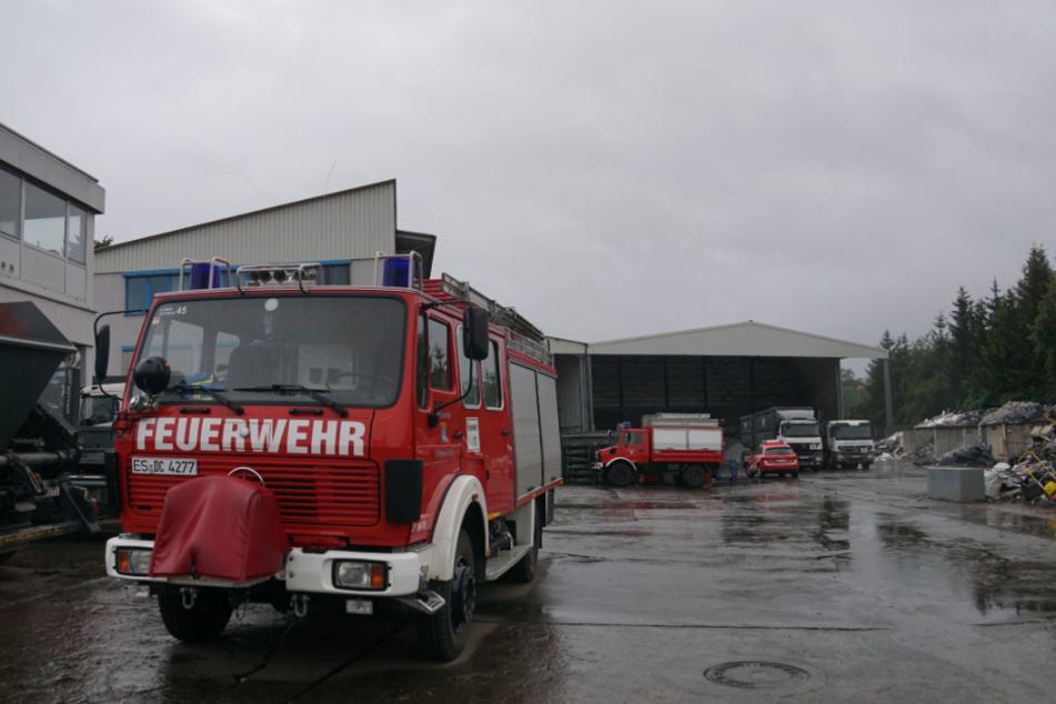 Chemikalie löst Großeinsatz der Feuerwehr aus: Autobahn gesperrt