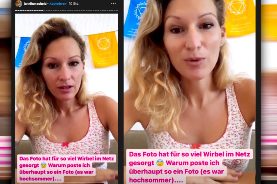 Auf Instagram spricht die Influencerin ganz offen darüber, wie schwer es ihr fiel, ihren neuen Körper zu akzeptieren.