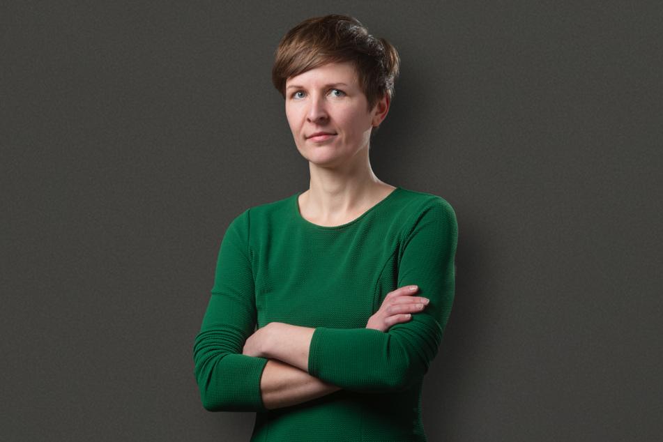 """""""Auf den ÖPNV muss verlass sein"""", meint Grünen-Stadträtin Susann Mäder (37)."""