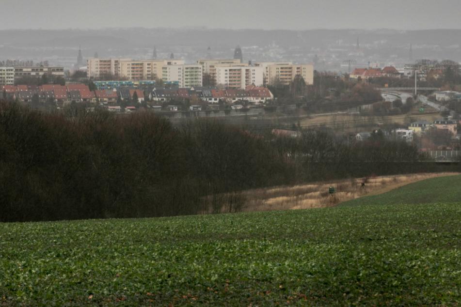 An dieser Stelle in Bannewitz soll Karls Erlebnisdorf entstehen.