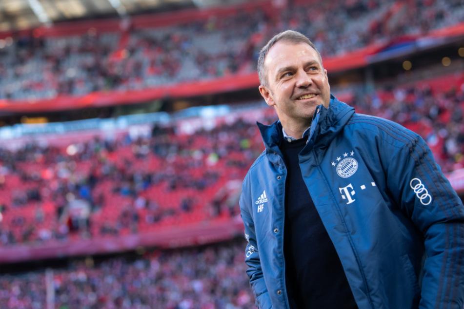 Hansi Flick (56) gewinnt mit dem FC Bayern zum zweiten Mal als Cheftrainer die deutsche Meisterschaft.