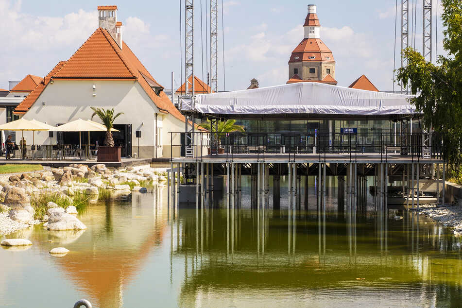 Nach dem Schwarzbau-Ärger: Rettung für die Seebühne im Ostra-Park!