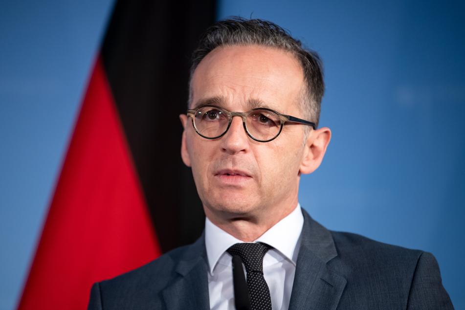 Bundesaußenminister Heiko Maas (SPD) spricht auf einer Pressekonferenz im Auswärtigen Amt.