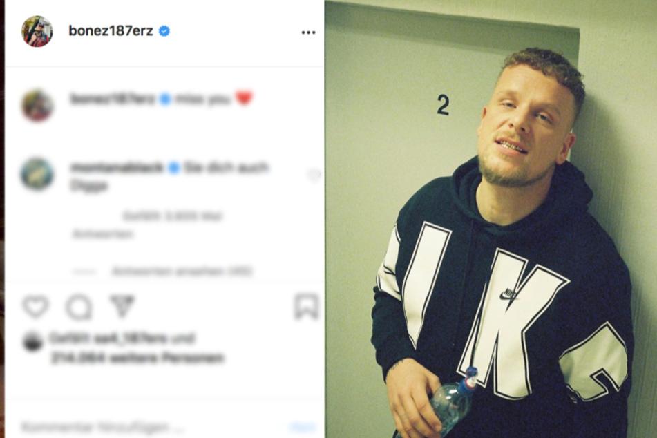 Nach Hochzeits-Gerüchten: Hat 187-Rapper Bonez MC etwa Liebeskummer?
