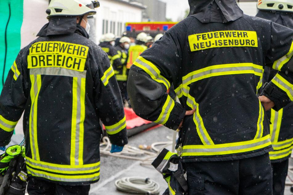 Die Feuerwehr war mit zahlreichen Einsatzkräften vor Ort.