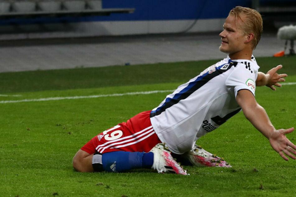 Joel Pohjanpalo (26) erzielte für den HSV insgesamt neun Tore.