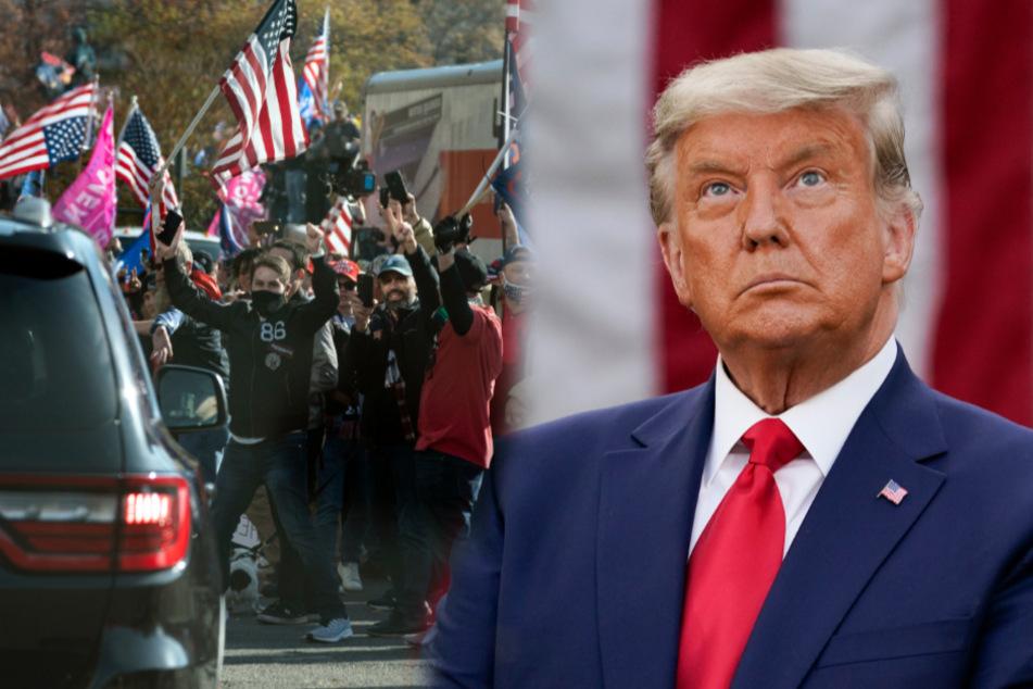Donald Trump kündigt Besuch bei Demo an: Seine Fans dürften jetzt aber bitter enttäuscht sein