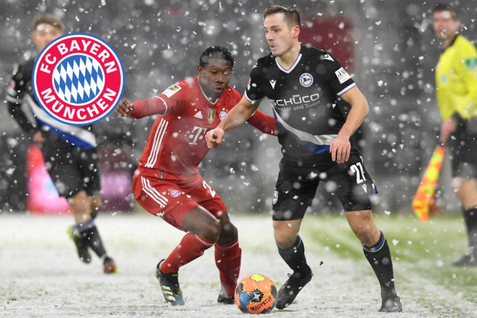 Vorsprung des FC Bayern schmilzt im Schnee: Hansi Flick ist trotzdem begeistert