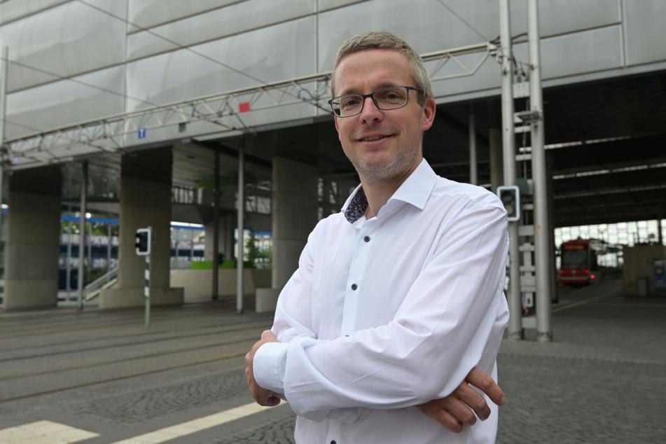 Mathias Korda (43) vom VMS stellte am Mittwoch das Projekt vor.