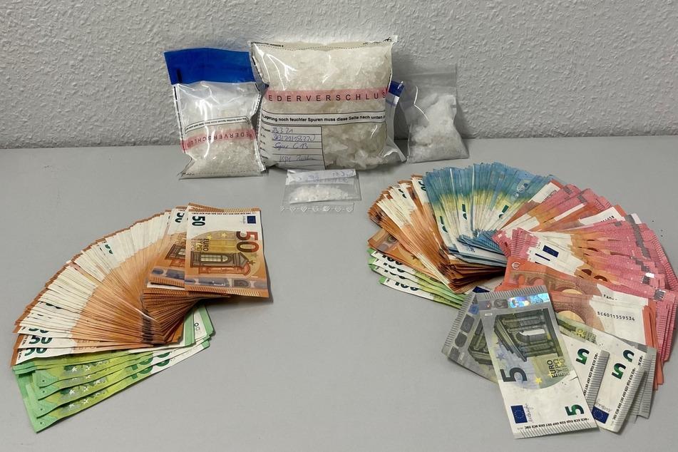 Drogen und Tausende Euro Bargeld gefunden: Fehlende Fahrradbeleuchtung überführt Dealer
