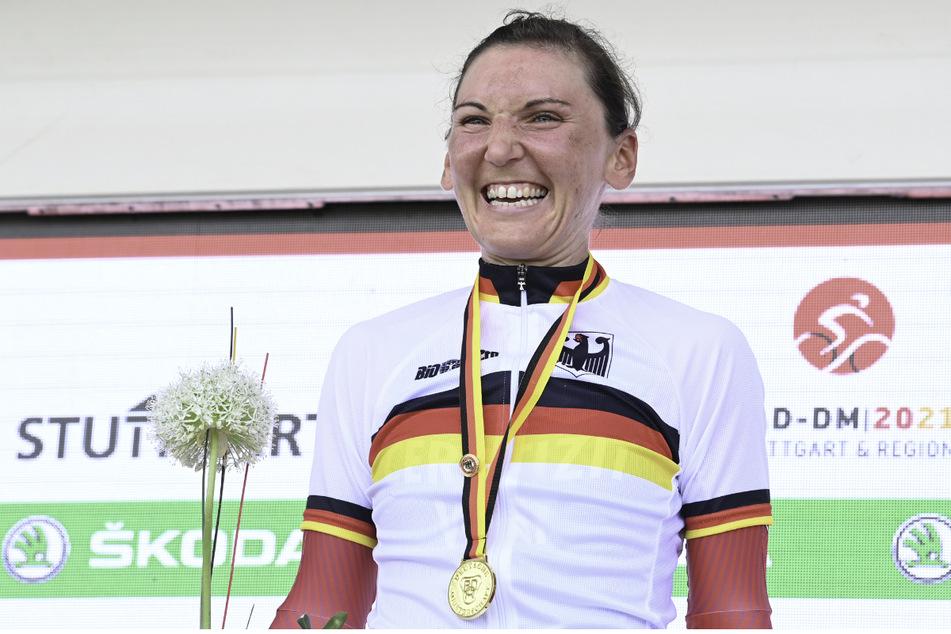Lisa Brennauer (33) hatte am Samstag bereits das Zeitfahren in Öschelbronn gewonnen.
