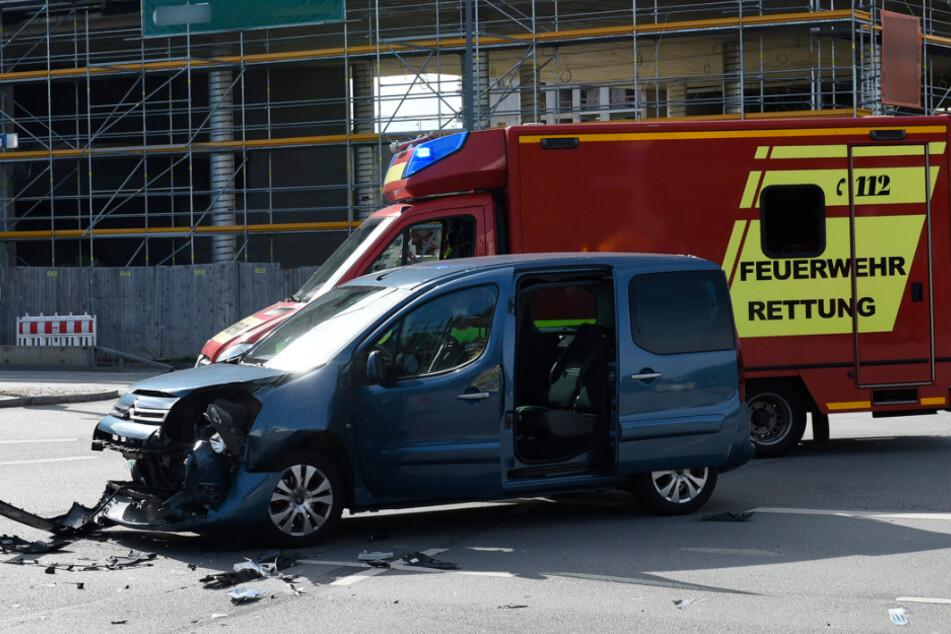 Beim Linksabbieger hatte der Citroën-Fahrer den entgegenkommenden BMW übersehen.