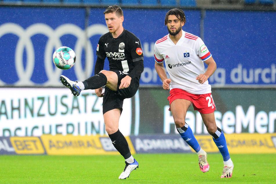 Trotz zweier Bänderrisse stand der 20-Jährige in der vergangenen Saison 20 Mal in der Startelf des HSV. Sein Verbleib ist jedoch ungewiss. (Archivfoto)