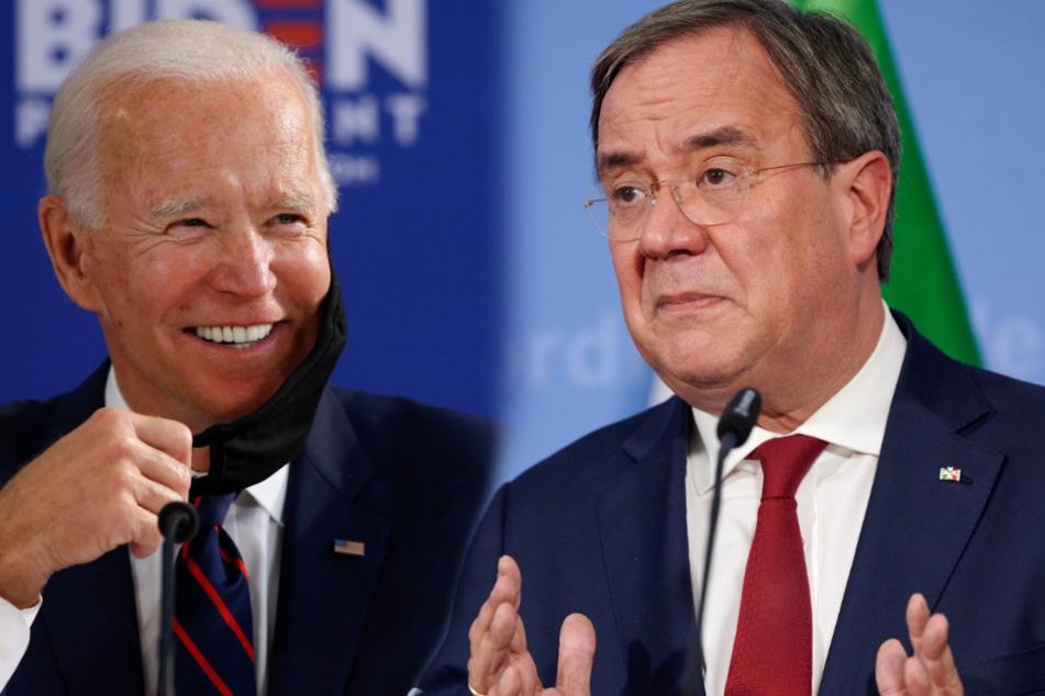 """""""Es gibt Tage der Hoffnung!"""": Laschet gratuliert Joe Biden zum Wahlsieg"""