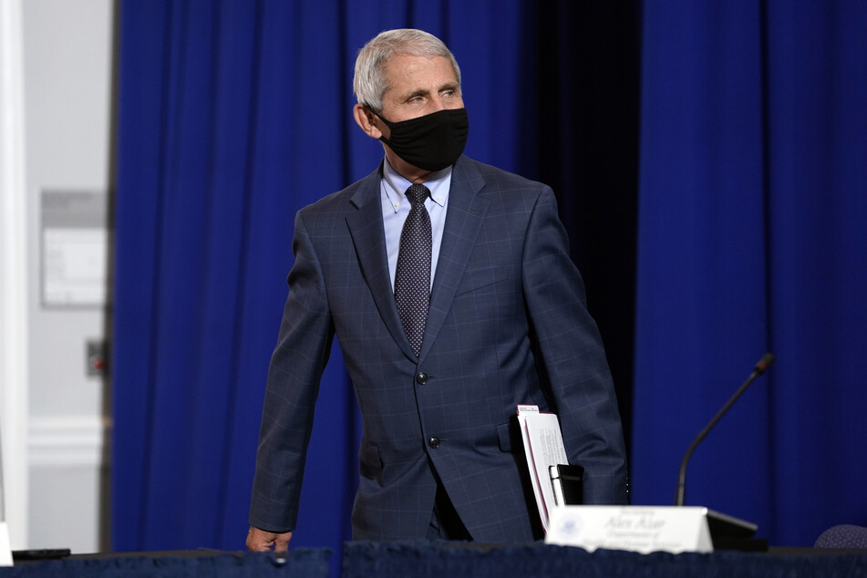 Anthony Fauci, Direktor des US-National Institute of Allergy and Infectious Diseases (NIAID). (Archivbild)