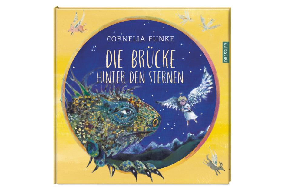 """Das Cover des Buches """"Die Brücke hinter den Sternen"""" von Cornelia Funke."""