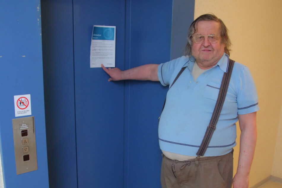 Hochhaus-Fahrstuhl kaputt: Mieter in der eigenen Wohnung gefangen