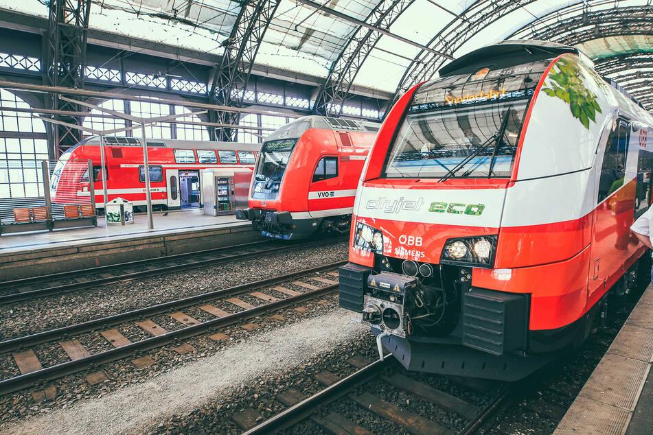 S-Bahn der Zukunft? Verkehrsverbund testet modernen Akku-Zug in Sachsen