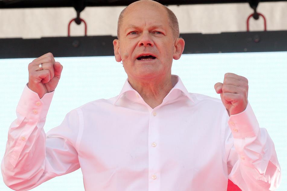 Olaf Scholz (63) will eine Koalition mit den Linken - im Gegensatz zur Union - nicht ausschließen.