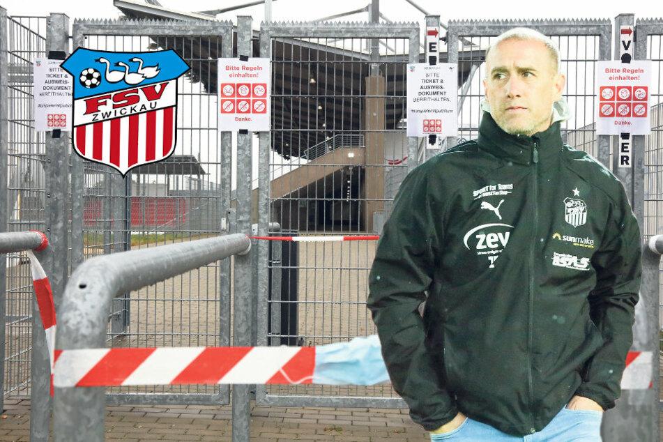 """FSV-Coach Enochs: """"Auch ohne Fans unsere Leistung bringen!"""""""