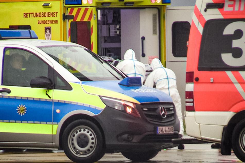 Die Patienten werden nach Ulm gebracht.