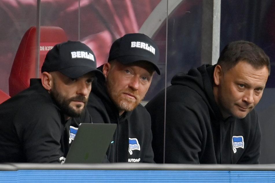 Beim desaströsen 0:6 in Leipzig wirkten die Trainer von Hertha BSC ziemlich ratlos.