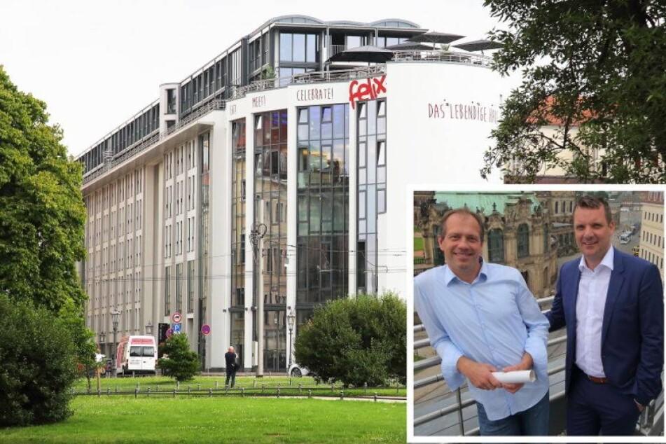 Eröffnungsparty am Postplatz: Advanta-Riegel wird zum lebendigen Haus