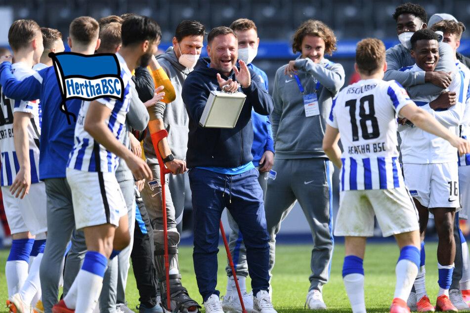 """Hertha jubelt über Rettung: """"Man kann die Jungs wieder lieben"""""""