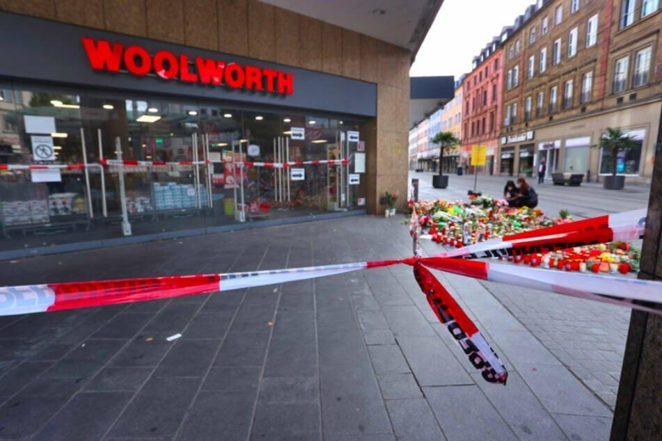 Messer-Attacke in der Würzburger Innenstadt: Ein 24 Jahre alte Somalier hatte am Freitagnachmittag drei Frauen getötet.