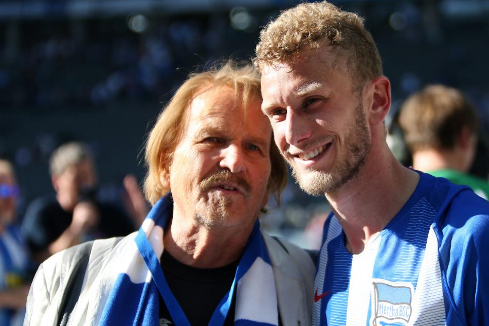 Fabian Lustenberger (31) bei seinem Abschied mit Frank Zander.