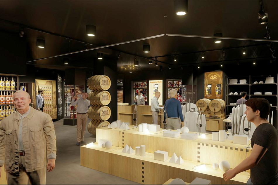 Das Besucherzentrum soll das Aushängeschild der Manufaktur werden (Visualisierung).