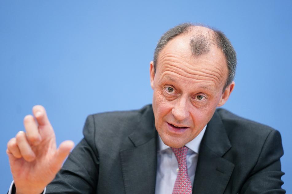 Friedrich Merz (CDU) fordert einen Baustopp für Nord Stream 2.