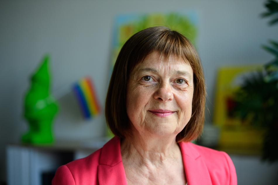 Ursula Nonnemacher (Bündnis 90/Die Grünen), Ministerin für Soziales, Gesundheit, Integration und Verbraucherschutz.