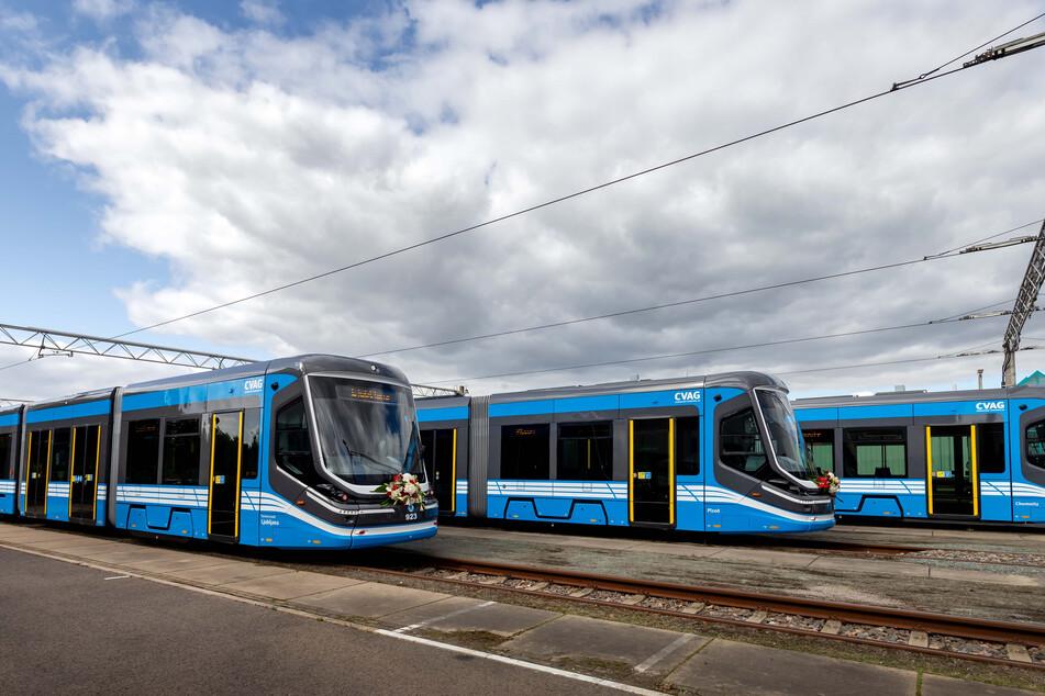 Die ersten drei Skoda-Bahnen haben einen Namen erhalten.