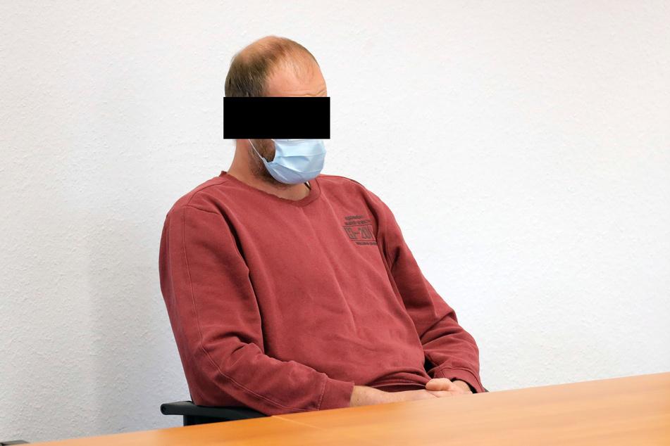 Andre F. (42) stand wegen Verstoßes gegen das Bundesnaturschutzgesetz vor dem Landgericht Chemnitz.