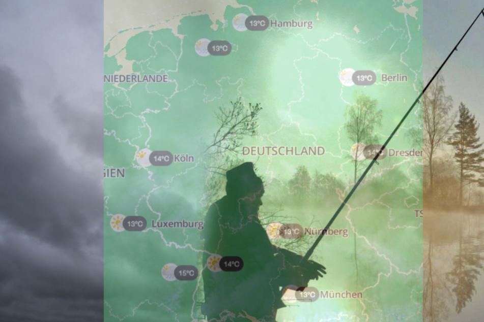 Samstag und Sonntag bleibt es in Teilen Deutschlands regnerisch. Wetterbesserung und wärmere Temperaturen werden zur Wochenmitte erwartet.