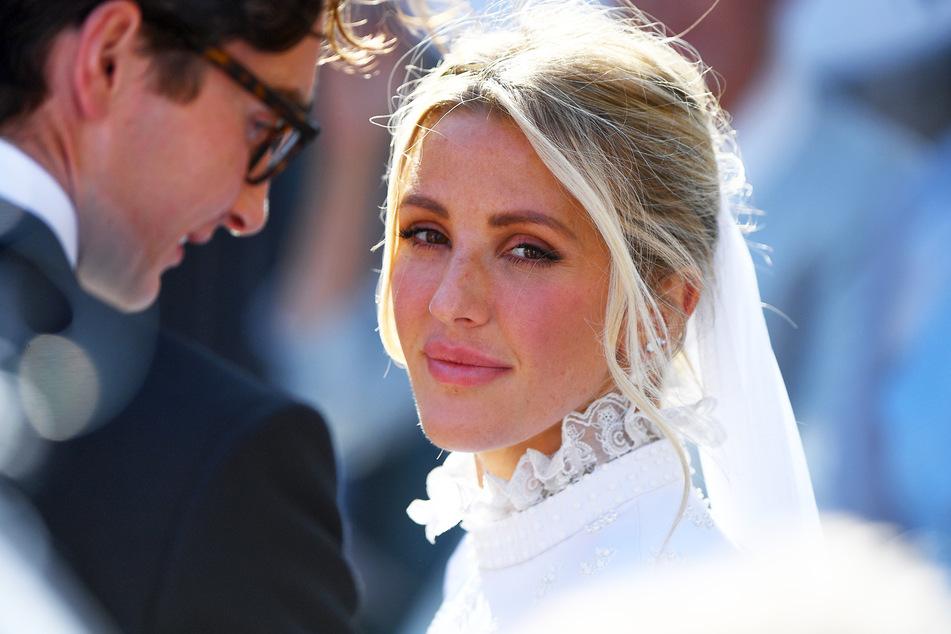 Ellie Goulding 2019 bei ihrer Hochzeit mit Ehemann Caspar Jopling.