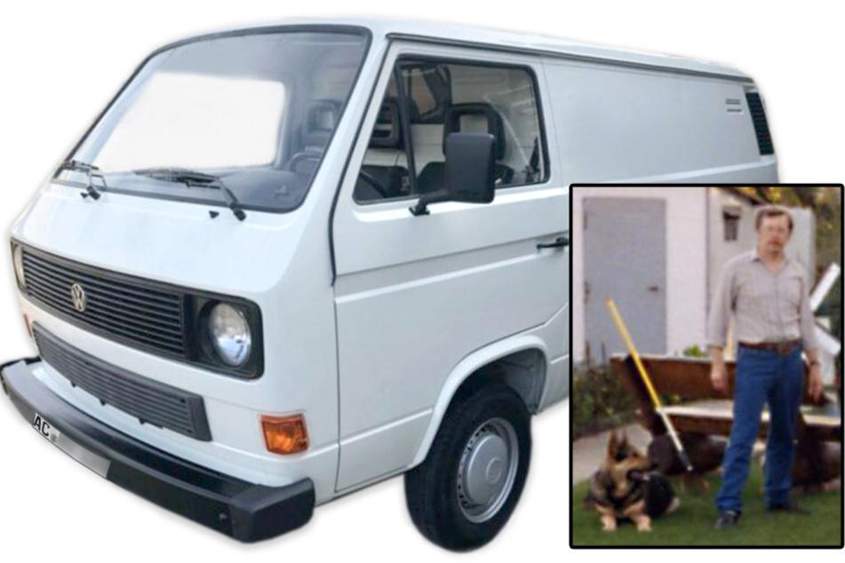 Das spätere Todesopfer verschwand zusammen mit seinem VW-Bus und seinem Schäferhund.