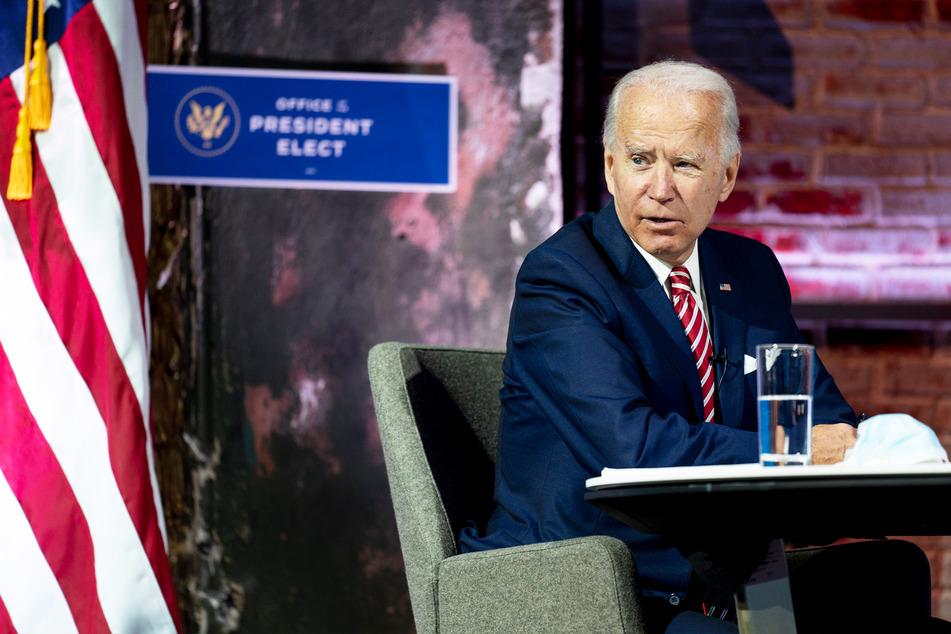 Joe Biden (78), gewählter Präsident (President-elect) der USA.