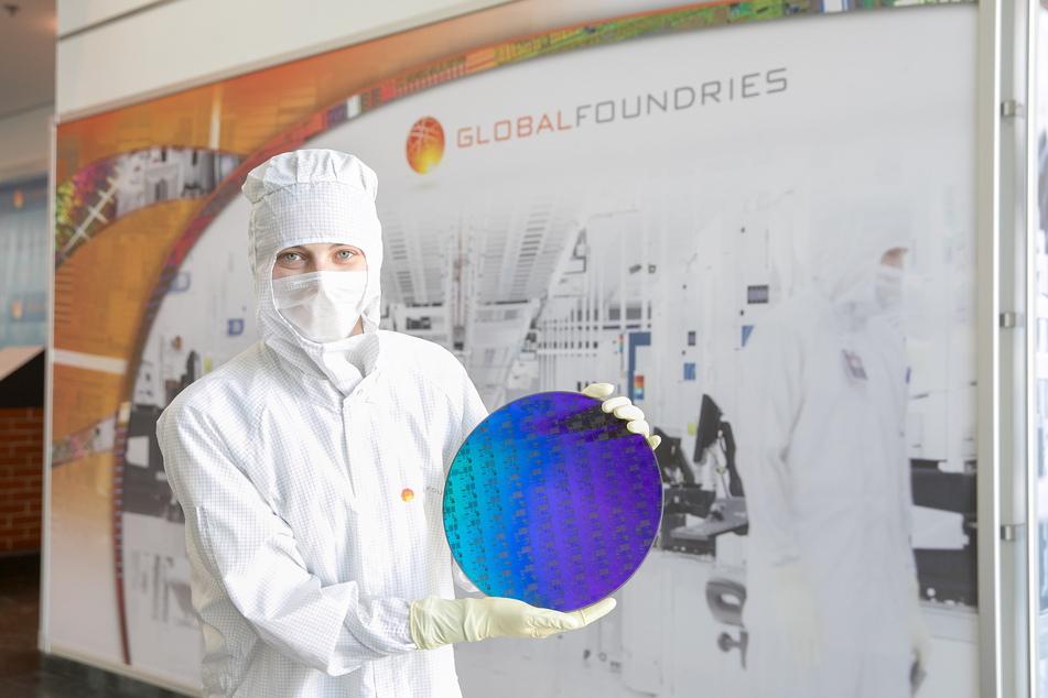 Auf diesen Siliziumscheiben werden die Chips gebaut.