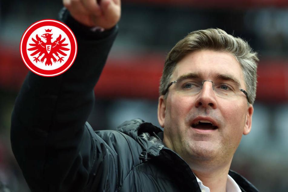 """Eintracht Frankfurt verspielt Champions League: Hellmann kritisiert """"Schönrederei"""""""