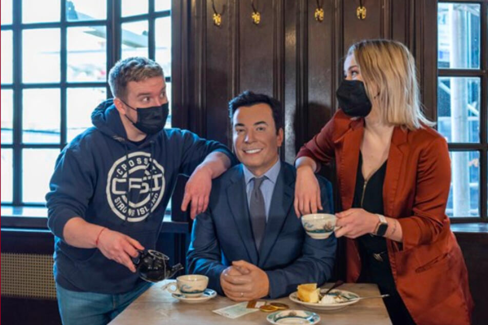 Coffee or tea? Jimmy Fallon has stayed silent on which he prefers.