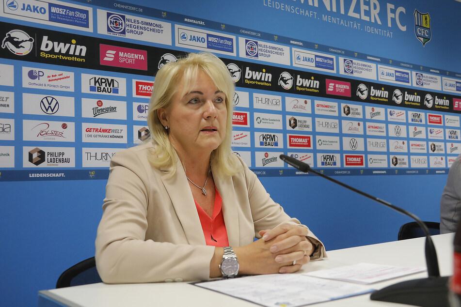CFC-Präsidentin Romy Polster sieht keinen Grund, das Fortbestehen der GmbH infrage zu stellen.