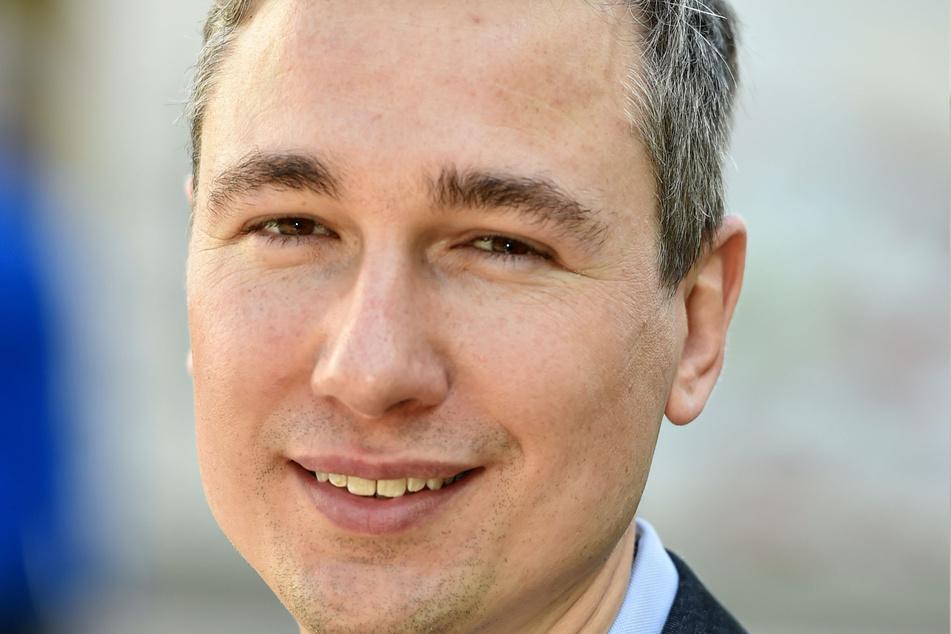 Grüne: Baubürgermeister Stephan Kühn (41).