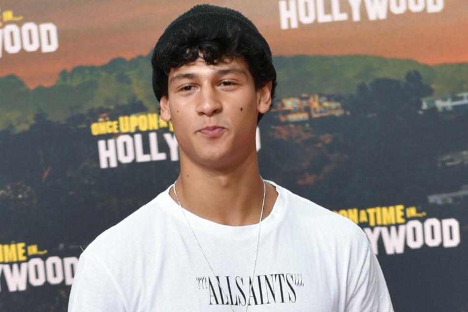 "Schauspieler Emilio Sakraya (24) kommt zur Premiere des Films ""Once upon a time... in Hollywood""."